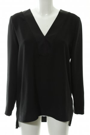 Kiomi Langarm-Bluse schwarz Casual-Look