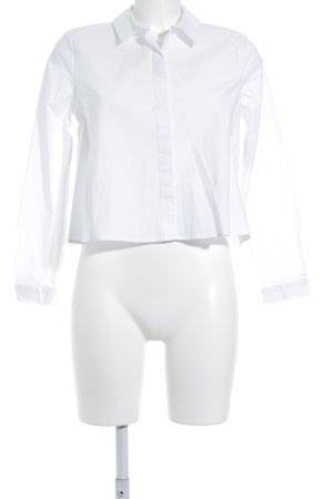 Kiomi Langarm-Bluse weiß Elegant