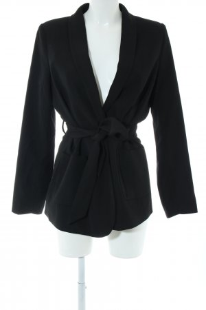 Kiomi Long-Blazer schwarz Casual-Look