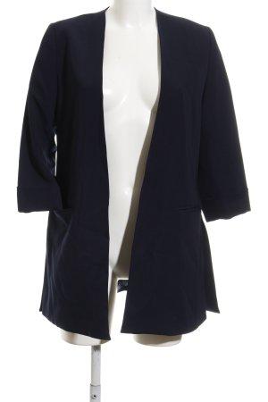 Kiomi Long-Blazer dunkelblau Business-Look
