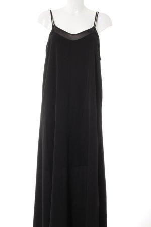 Kiomi Maxikleid schwarz Elegant