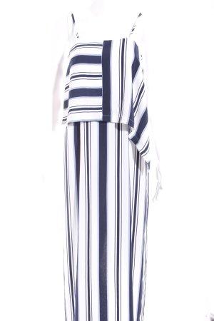 Kiomi Maxikleid Streifenmuster Elegant
