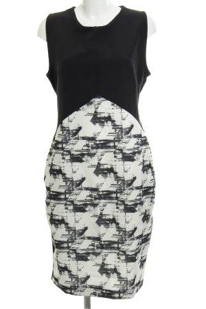 Kiomi Midikleid schwarz-weiß 90ies-Stil
