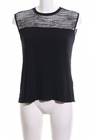 Kiomi Mesh Shirt black business style