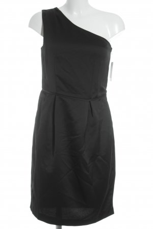 Kiomi One-Shoulder-Kleid schwarz Elegant