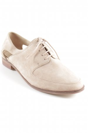 Kiomi Chaussure Oxford beige style d'affaires