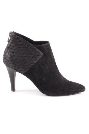 Kiomi Reißverschluss-Stiefeletten schwarz Casual-Look