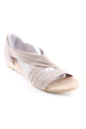 Kiomi Sandalias de tiras beige look casual
