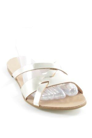 Kiomi Riemchen-Sandalen goldfarben-beige Elegant