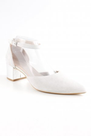 Kiomi Strapped High-Heeled Sandals light grey business style