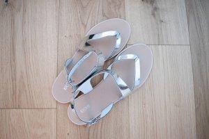 Kiomi Sandalo con cinturino argento-grigio chiaro