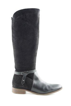 Kiomi Jackboots black casual look