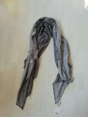 Kiomi Écharpe gris clair-gris ardoise