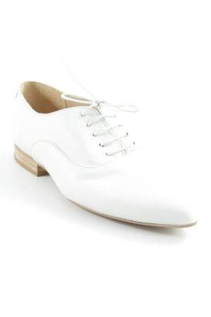 Kiomi Schnürschuhe wollweiß-beige extravaganter Stil