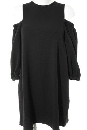 Kiomi Off-The-Shoulder Dress black casual look
