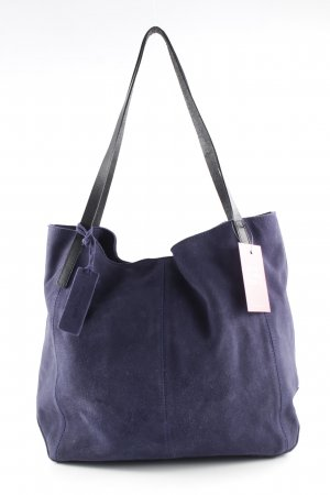 Kiomi Shopper schwarz-dunkelblau Casual-Look