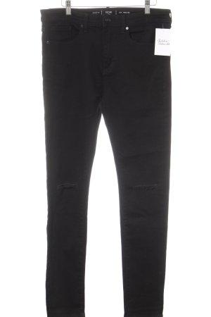 Kiomi Skinny Jeans schwarz Casual-Look
