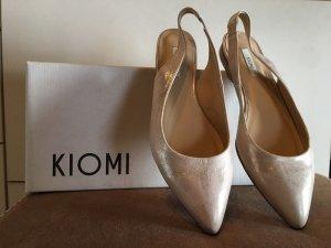 Kiomi Slingback Ballerinas multicolored leather