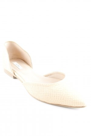 Kiomi Slipper apricot-goldfarben Animalmuster Animal-Look