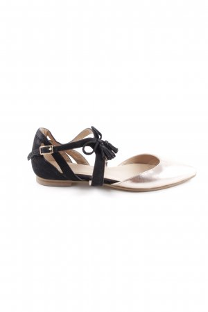Kiomi Backless Pumps bronze-colored-pink business style