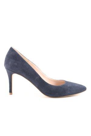 Kiomi Spitz-Pumps blau Business-Look