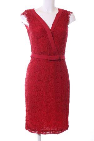 Kiomi Spitzenkleid rot Elegant