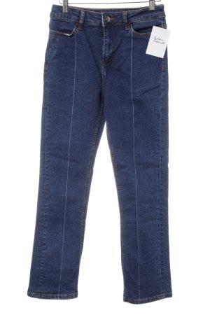 Kiomi Straight-Leg Jeans dunkelblau Casual-Look