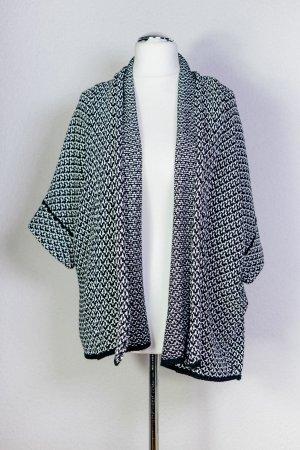 Kiomi Cardigan bianco-nero Cotone