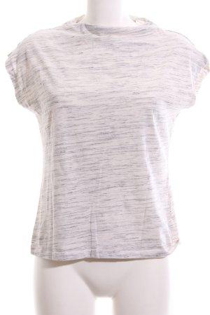 Kiomi T-Shirt weiß-schwarz meliert Casual-Look