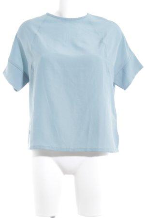 Kiomi T-Shirt himmelblau Business-Look