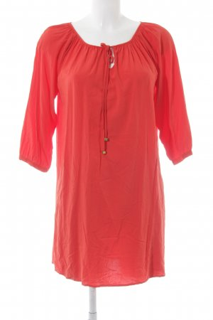 Kiomi Tunic Dress bright red beach look