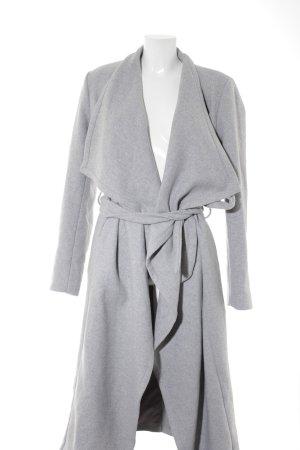 Kiomi Cappotto invernale grigio chiaro stile classico