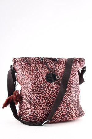 Kipling Buideltas luipaardprint casual uitstraling