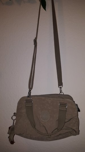 Kipling Crossbody bag light grey synthetic
