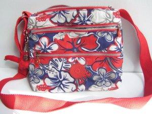 Kipling neue Schultertasche 8 Fächer schwerpunkt Farbe Rot . Farbe Bunt