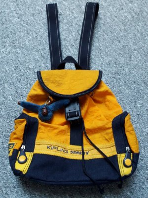 Kipling Trekking Backpack orange-dark blue