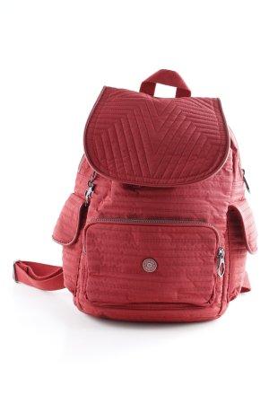 Kipling Zaino per la scuola rosso stile casual