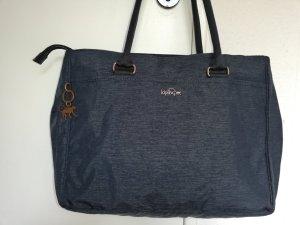 Kipling Sac porté épaule bleu foncé nylon