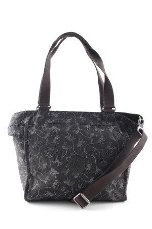Kipling Shoulder Bag white-black abstract pattern casual look