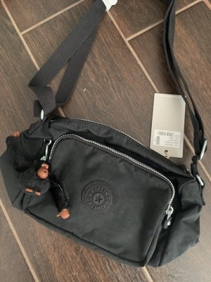 Kipling Riñonera negro-gris antracita