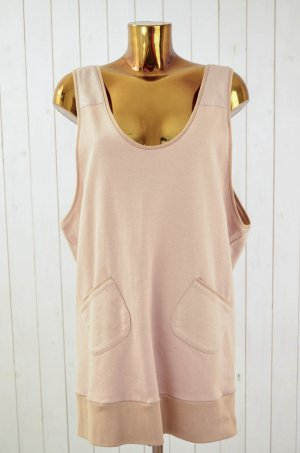 Sweat Dress pink-apricot cotton