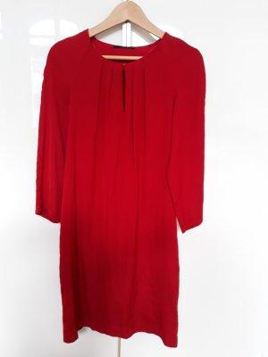 Esprit Vestido tipo túnica rojo ladrillo