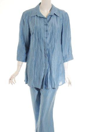 Kirsten Traje de pantalón azul aciano look casual