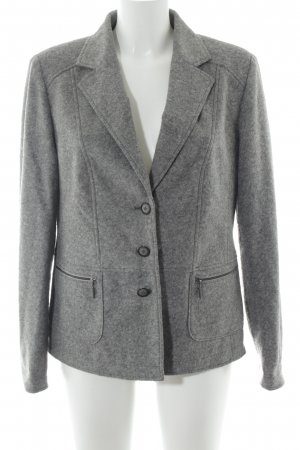 Kirsten Wool Blazer light grey flecked elegant