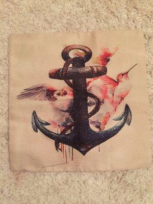 Kissenbezug Anker maritim