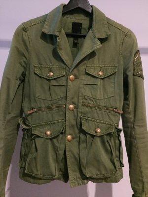 Kitson LA Parker Jacke grün gold 36 - S
