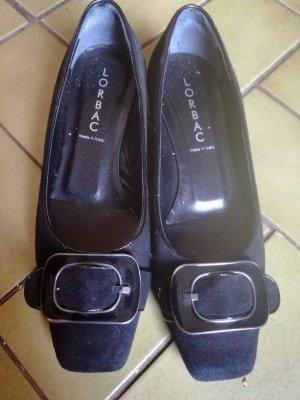 Lorbac Zapatos formales sin cordones negro