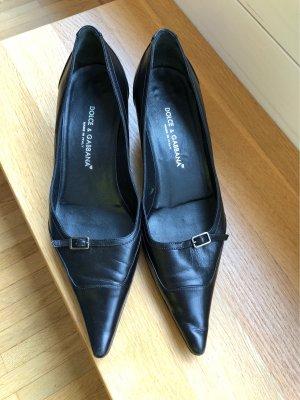 Dolce & Gabbana Pointed Toe Pumps black