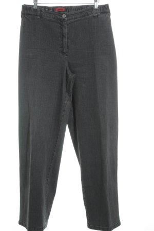 Kj Brand Straight-Leg Jeans dunkelgrau Casual-Look