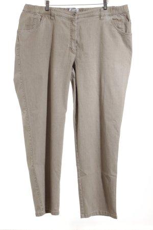 Kj Brand Stretch Jeans beige Metallelemente